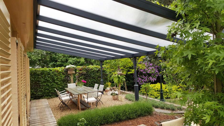 Garten Terrasse mit Markise