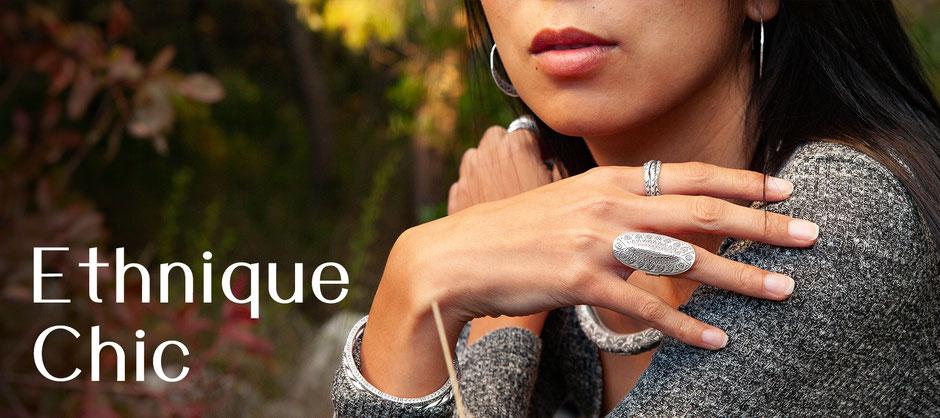 bijoux argent ethniques chics fait main