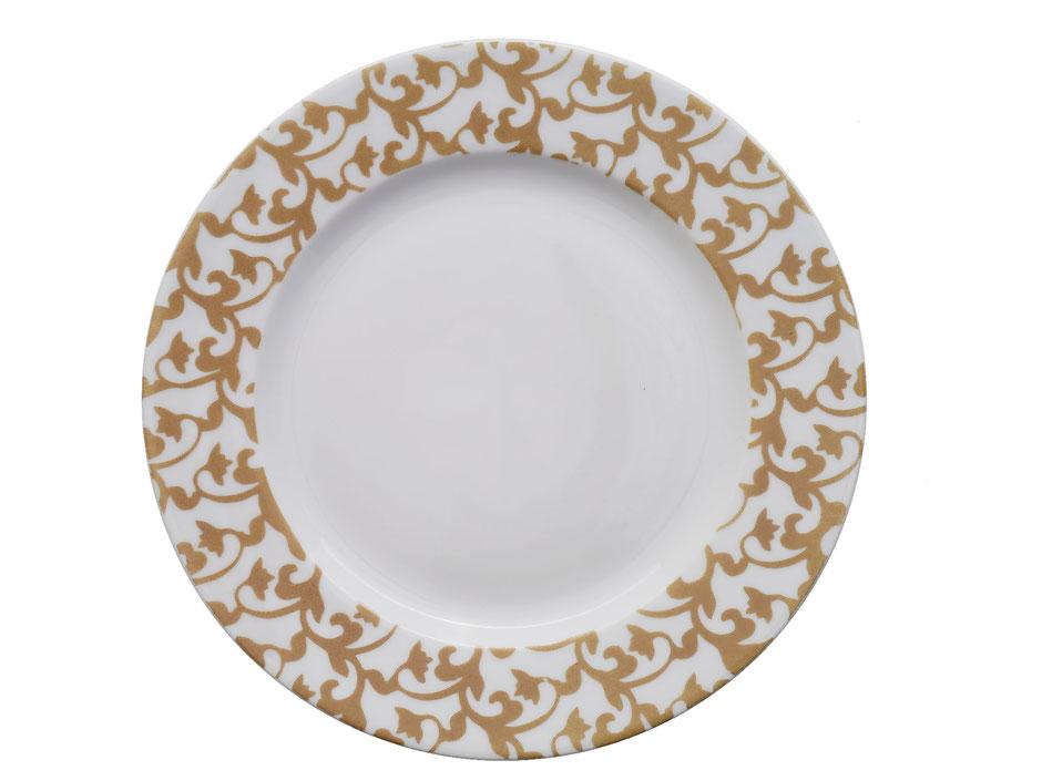Assiette Trianon Nara Porcelaine