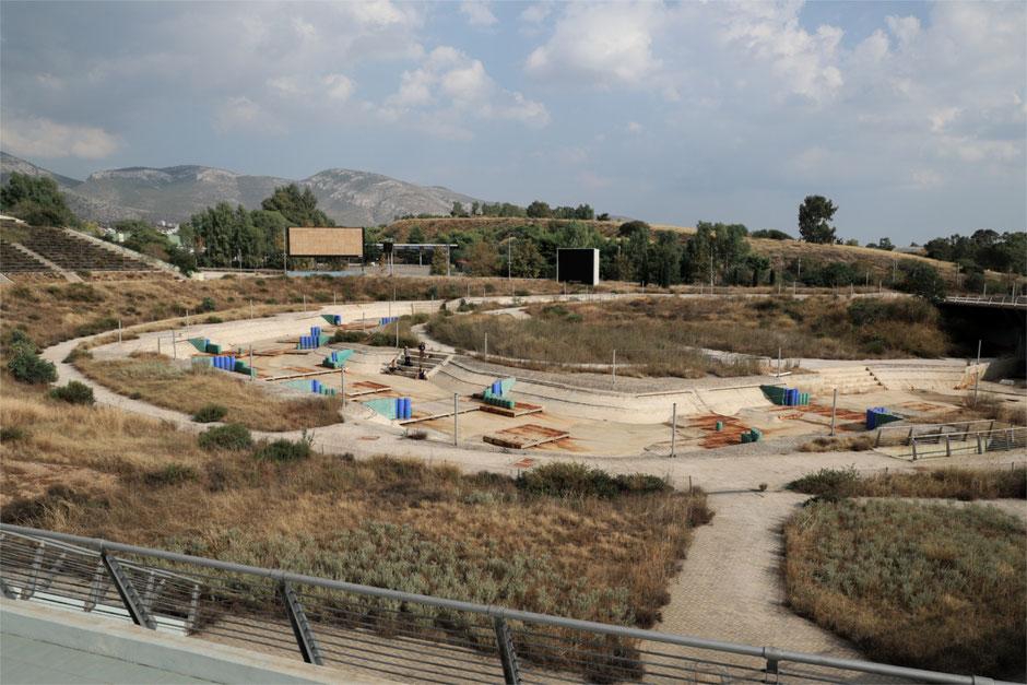Snakerun aka Kayak Parcours, Elliniko Olympic Complex - Hadrien Bastouil