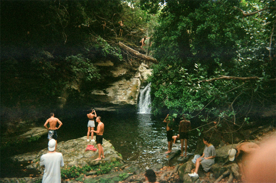 Tourists and Waterfalls - SUC