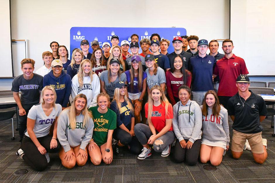 IMG Academy's graduating student-athletes