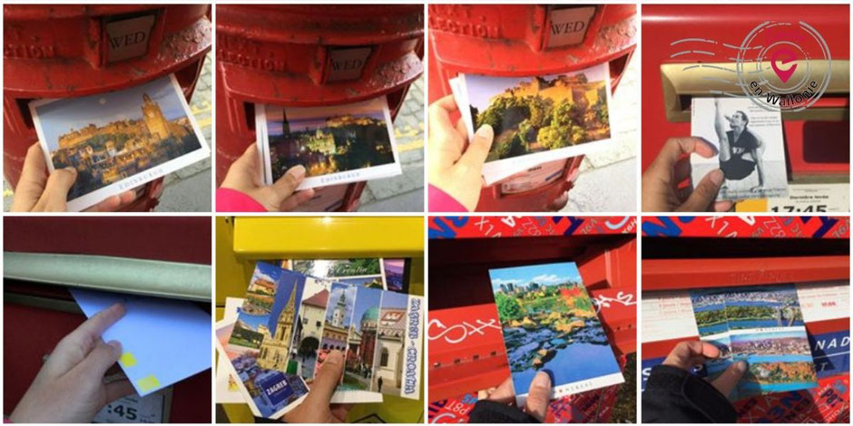 Emilie en Wallonie | Cartes postales | From Me to You