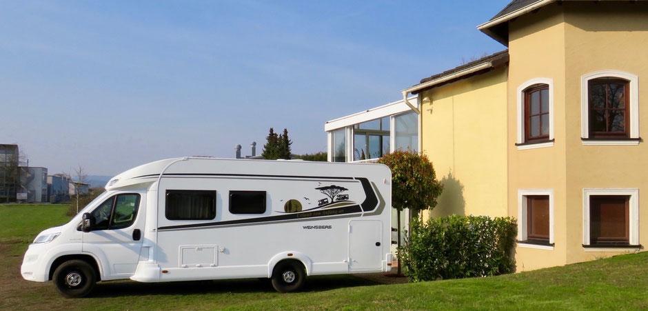 Wohnwagen oder Ferienwohnung mieten bei der Familie Barth in Merzig/Hilbringen