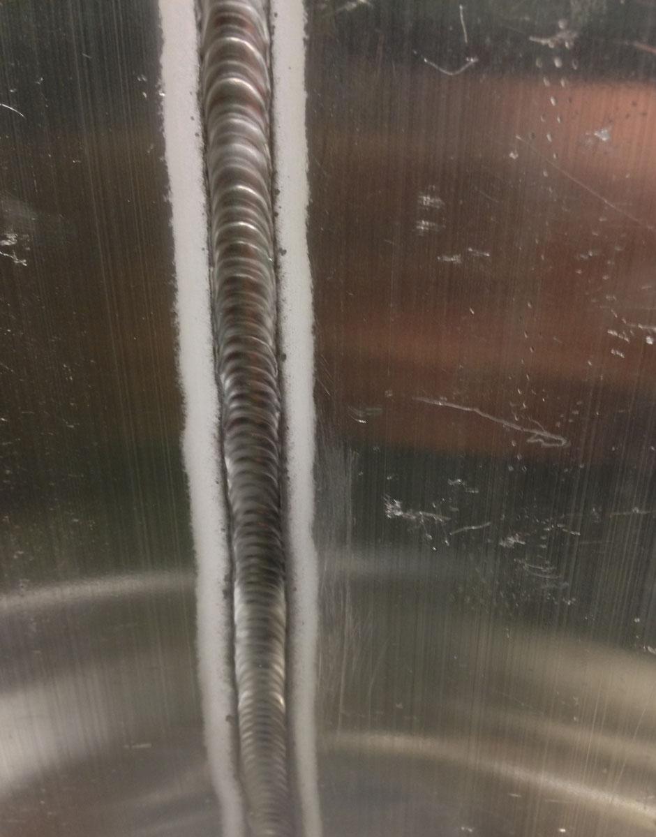 TIG Gecertificeerd Aluminum laswerk