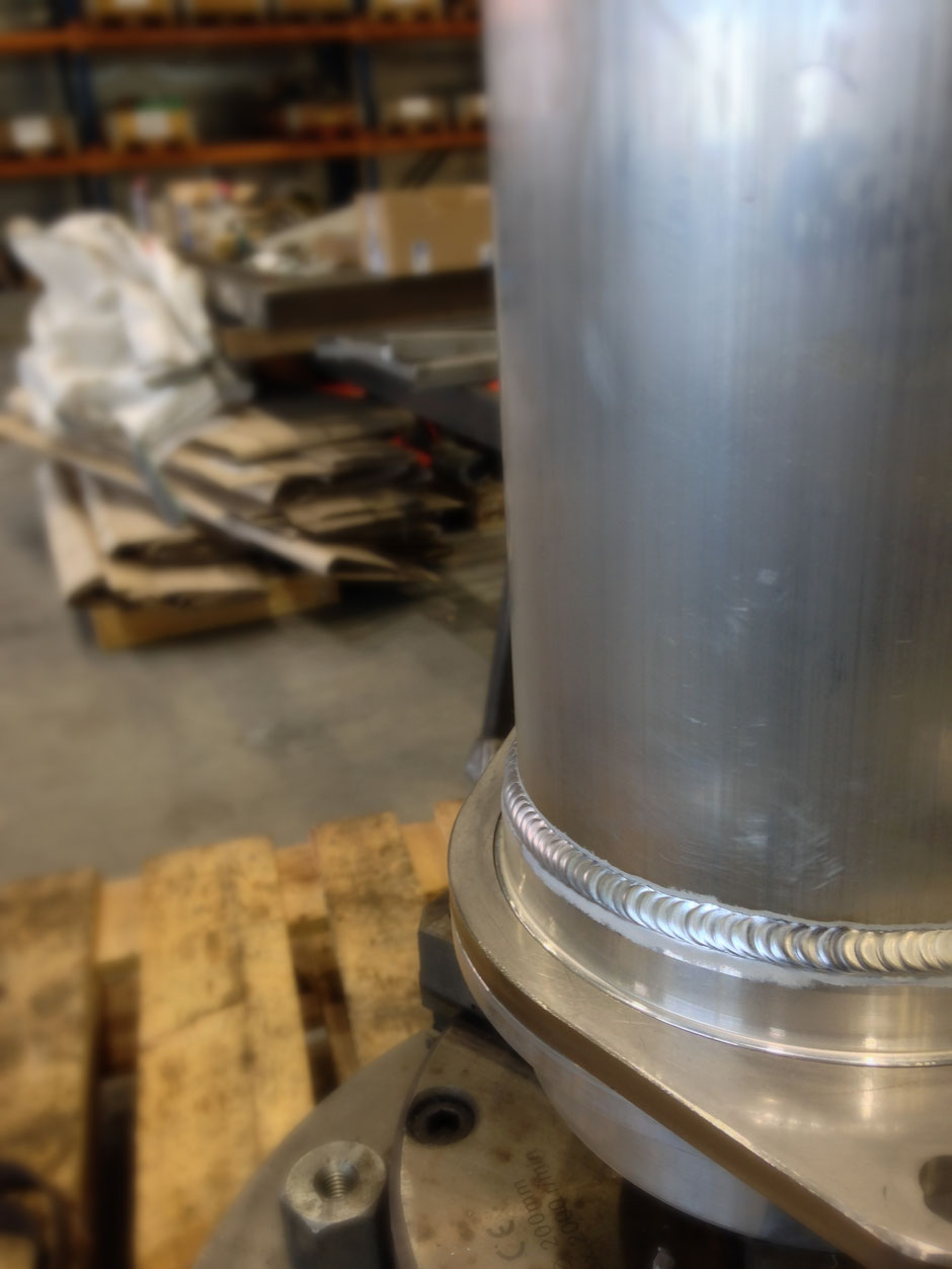 Tig Aluminium pijp
