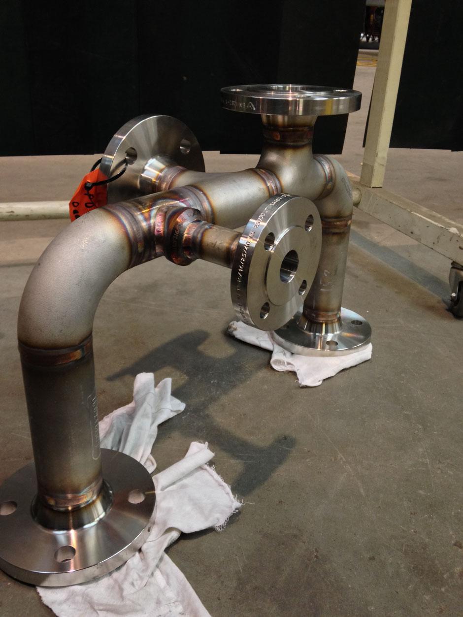 Gecertificeerd Laswerk Tig RVS  316 LSI