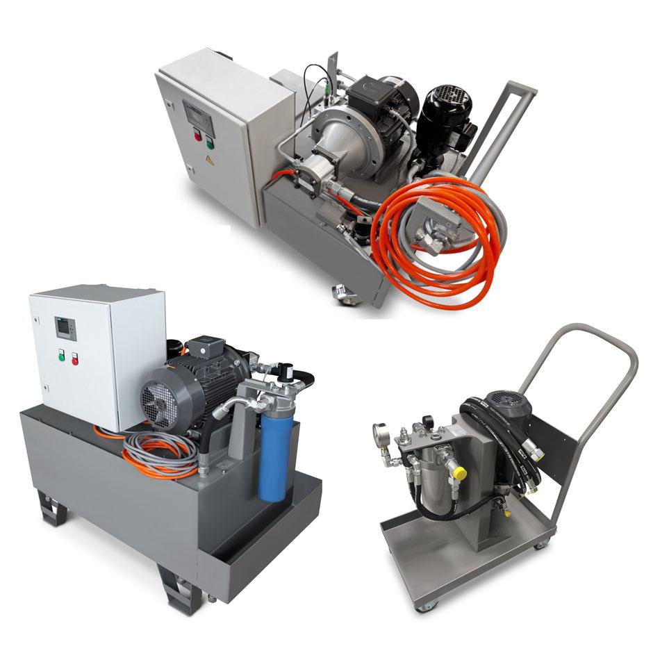 Kühlschmierstoff Hochdruck Anlagen