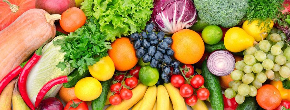 Obst und Gemüse sorgen für die Säure-Basen-Balance