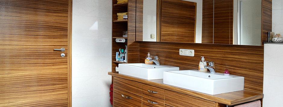 Baderverkleidungen vom Schreiner, Peter Moser GmbH Nußdorf