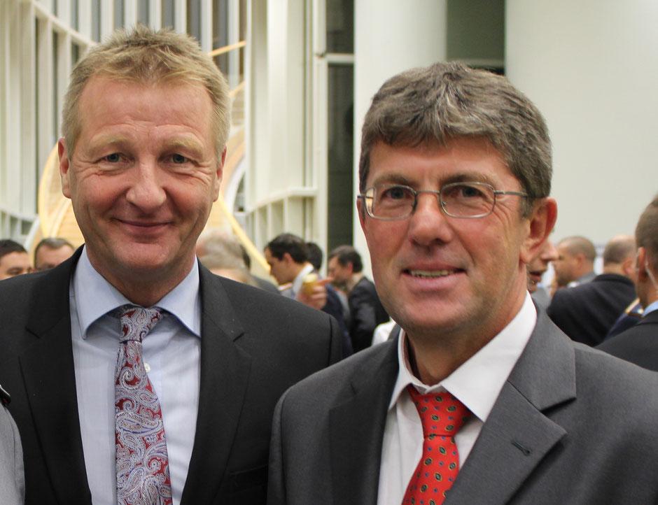 Thomas Marquardt zusammen mit Innenminister Ralf Jäger