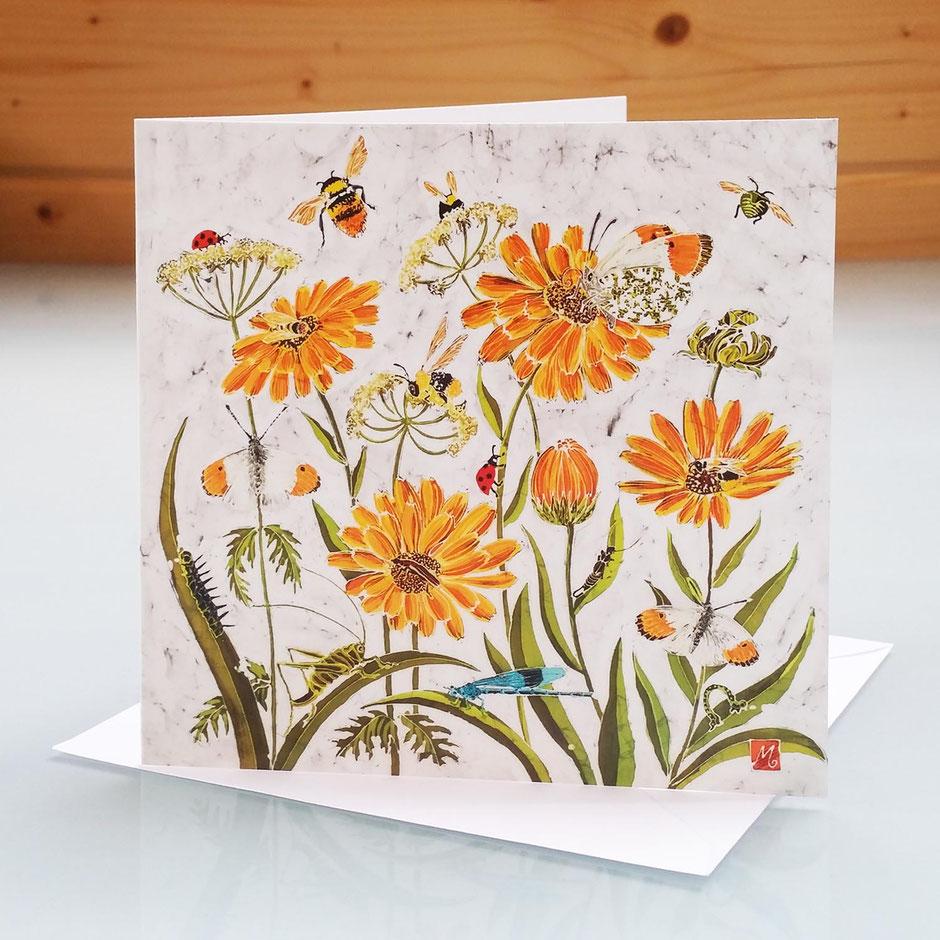 Fleur De Calendule art card