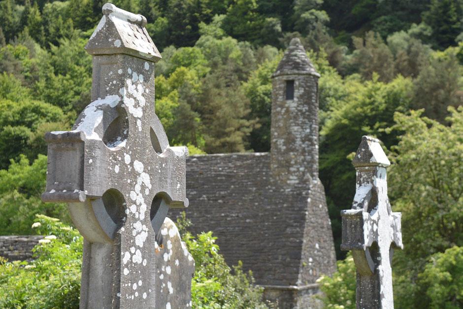 St. Kevins Church Glendalough, Wicklow Mountains, Irland - Bild von fsHH auf Pixabay