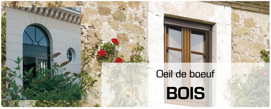 fenêtre ronde bois à clermont-ferrand