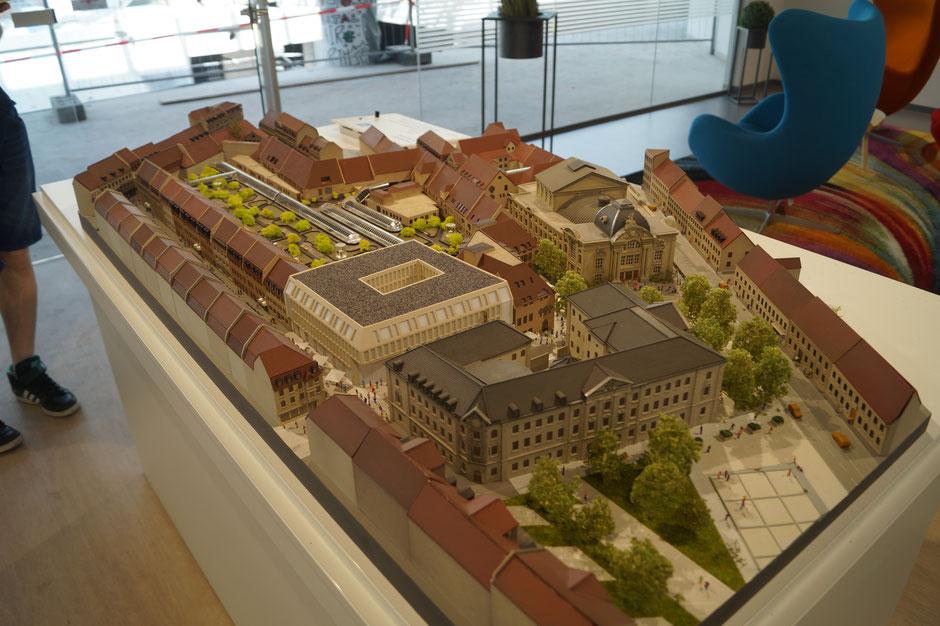 Miniatur Modell des Flair Fürth