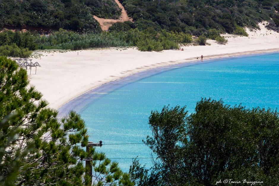 пляж Кампус Вилласимиус- Campus beach, Villasimius