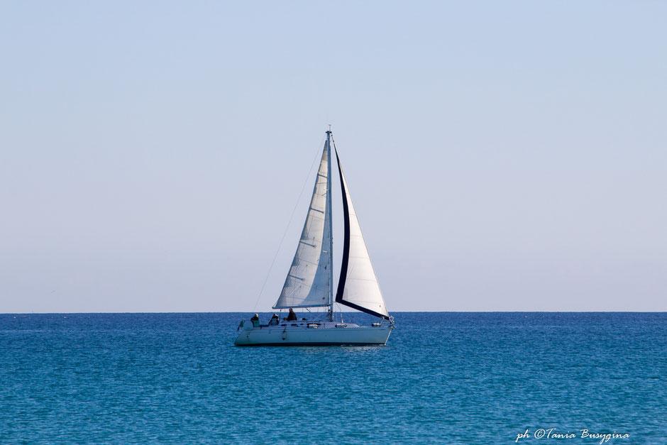 тур на яхте. Сардиния