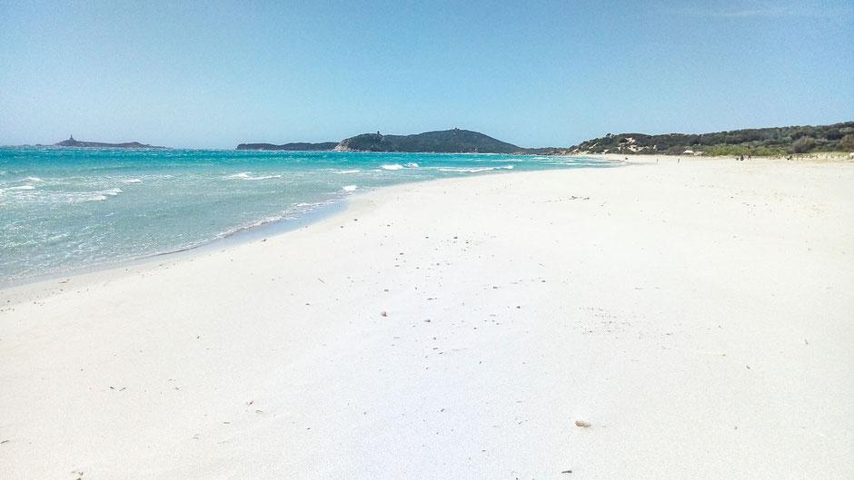 Пляж Джунко. Вилласимиус. Giunco Beach_ Villasimius_ Sardinia