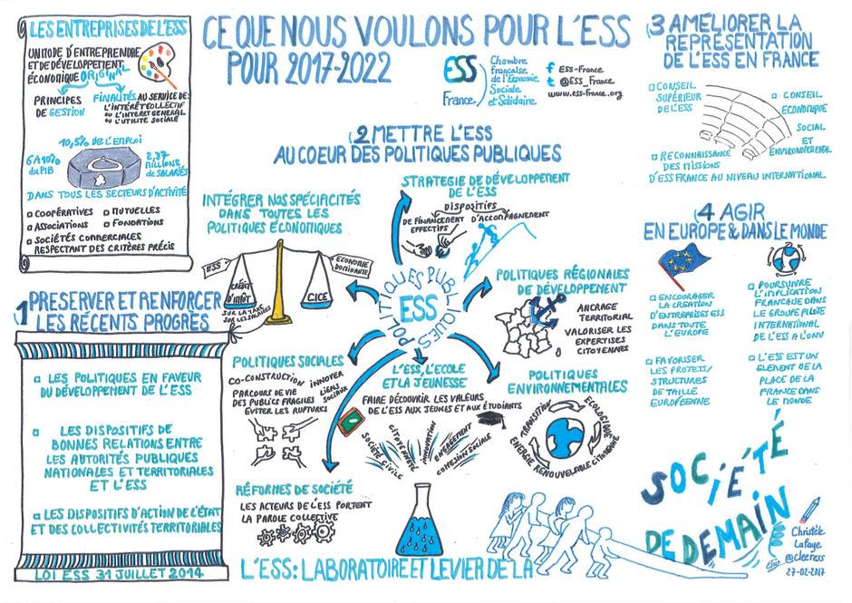 ESS, ESS France, élection présidentielle 2017, facilitation graphique