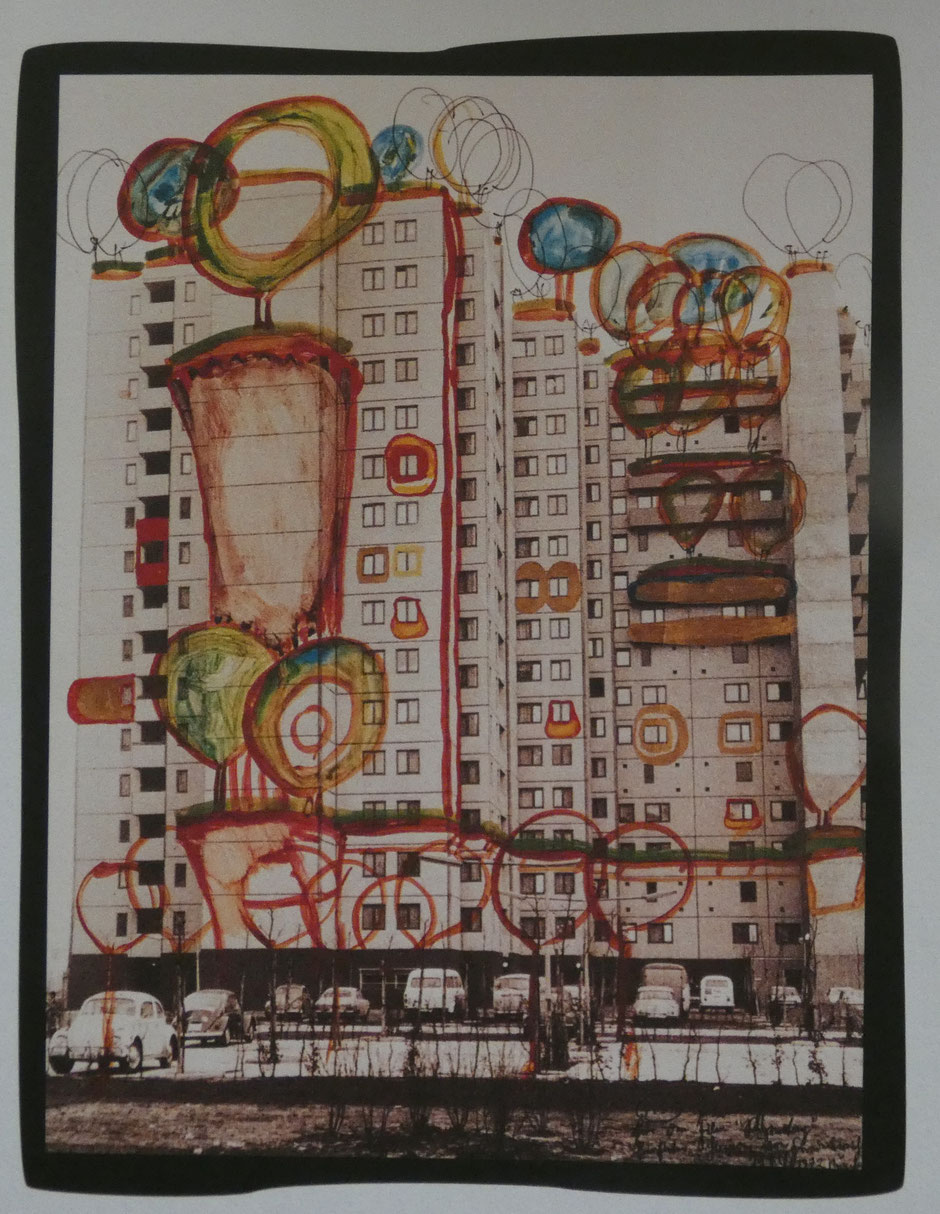 Photo d'illustration : Suggestion for Healing of Architecture (Hundertwasser - 1972)