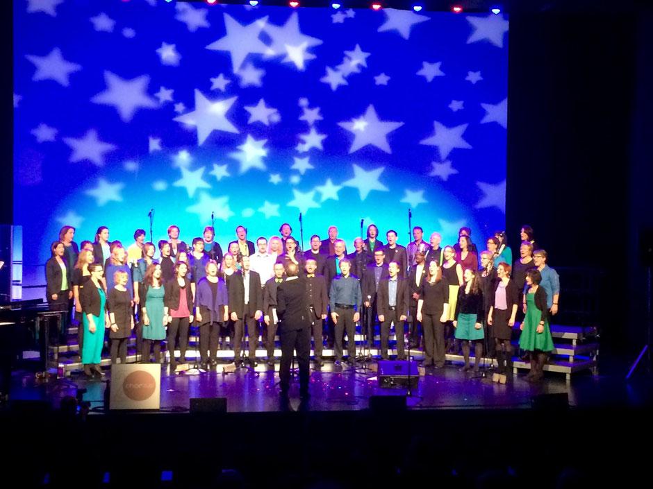 Hark! Nach unserer CD-Taufe singen wir unser einziges Weihnachtslied