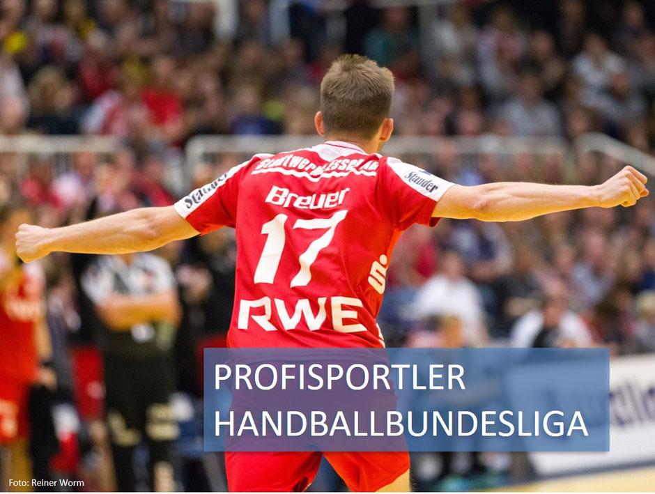 David Breuer Profisportler Handballbundesliga