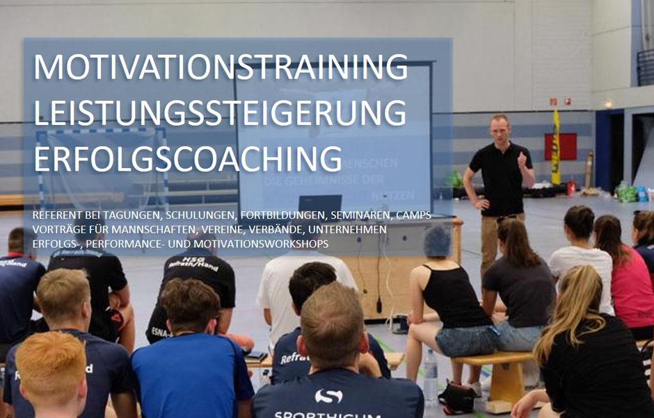 David Breuer Performance Coach. Motivationstraining, Leistungssteigerung, Erfolgscoaching.