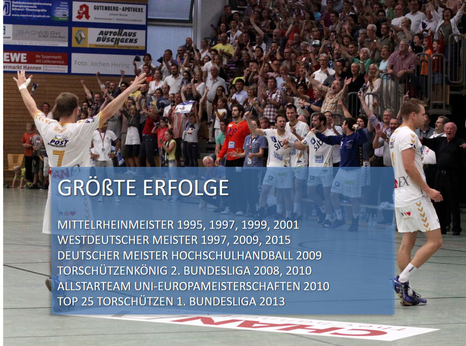 David Breuer größte Erfolge Handballspieler Handballtrainer
