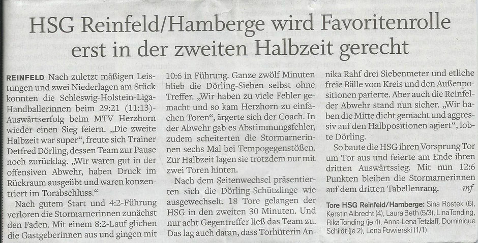 Stormarner Nachrichten v. 18.11.2014