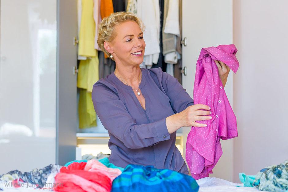 Business Fotografie, Fotoproduktion für Shoppingberatung Kathrin Scheibe-Müller in München