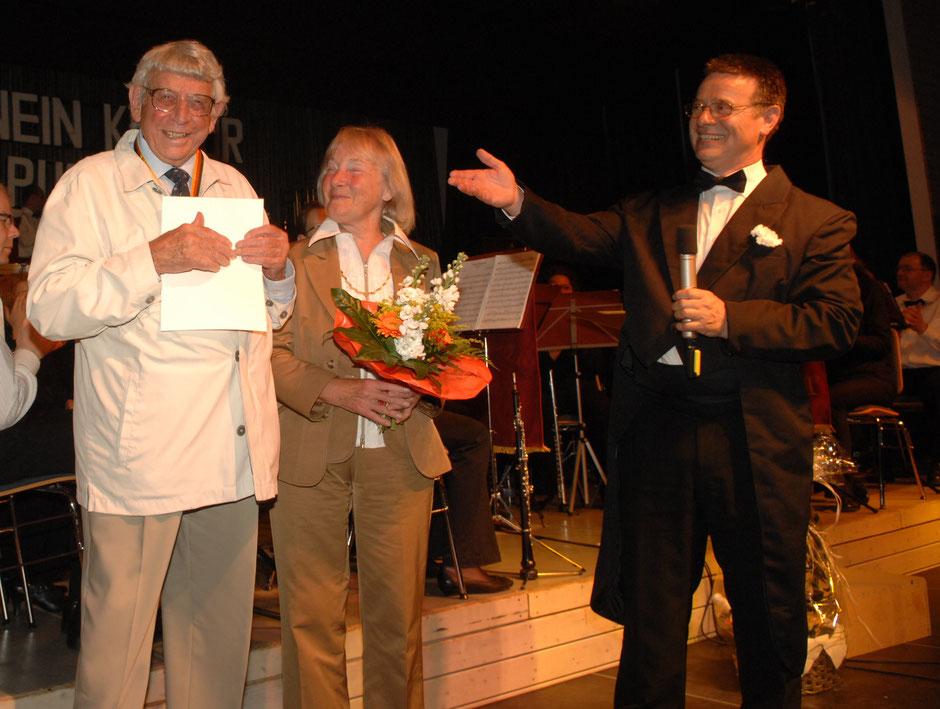 Das Stifterehepaar Hilde und Walter Ullrich