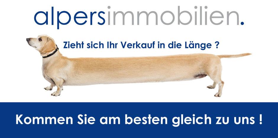 Immobilienmakler Bremerhaven Alpers Hund zieht sich Ihr verkauf in die Länge?