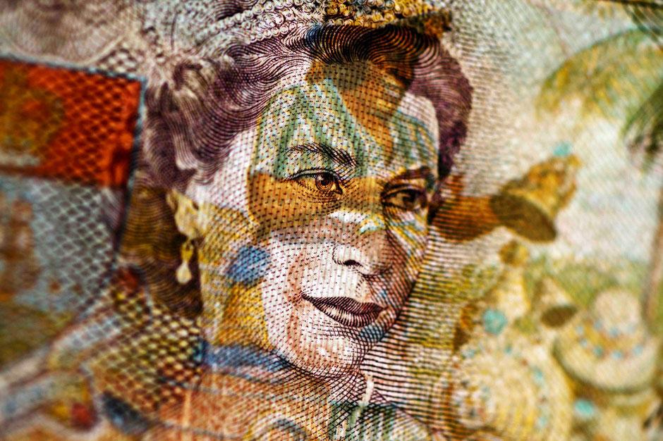 Motiv: `Bahamas Queen`– seit 2016 als FINE ART PRINT im Buckingham Palace