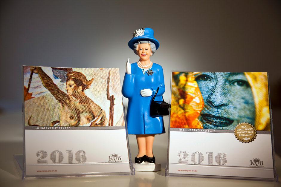 KALENDER BOX IM CD FORMAT | ZUM AUFSTELLEN AUF DEM SCHREIBTISCH