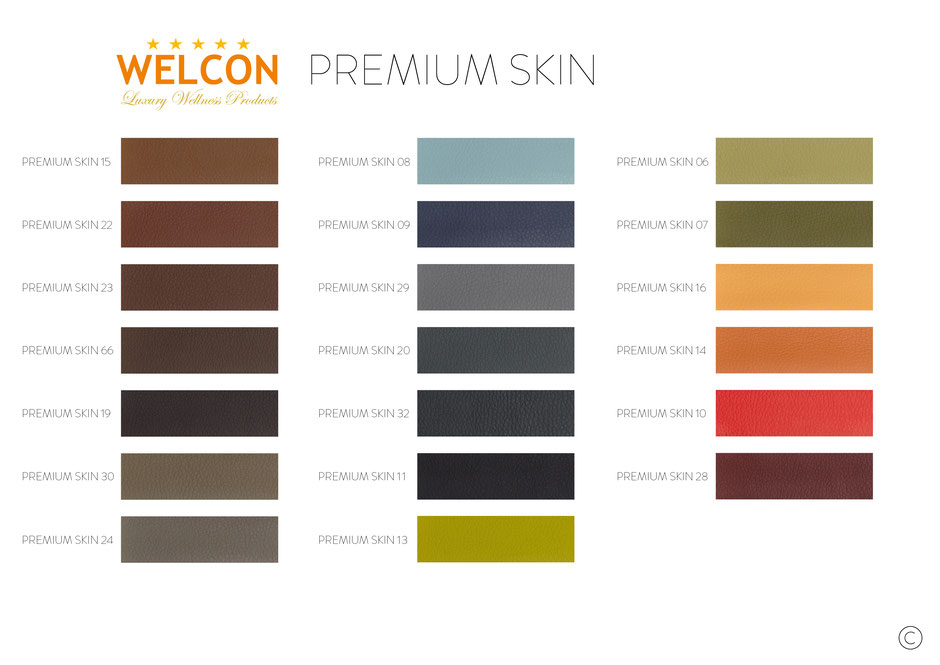 Kunstlederbezug Premium Skin - Grundpreis zzgl. 20%