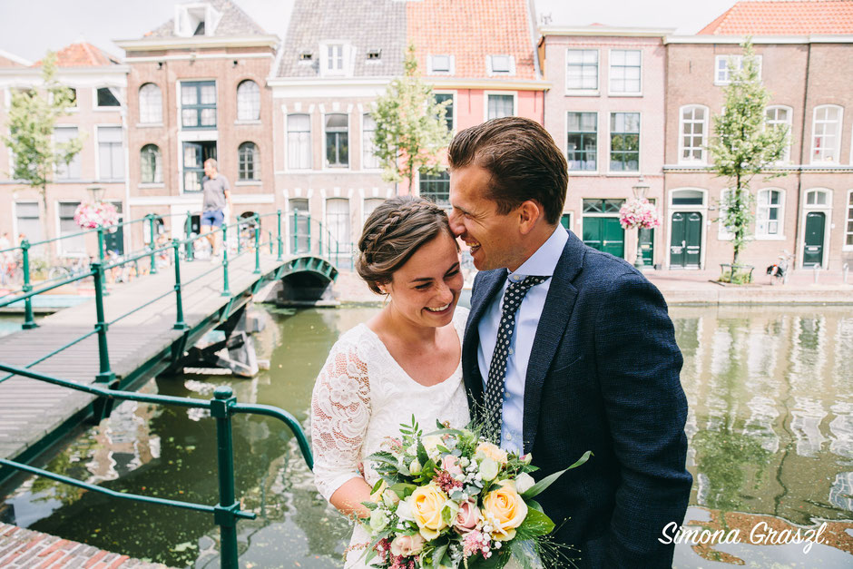 Amsterdam intimate wedding photographer