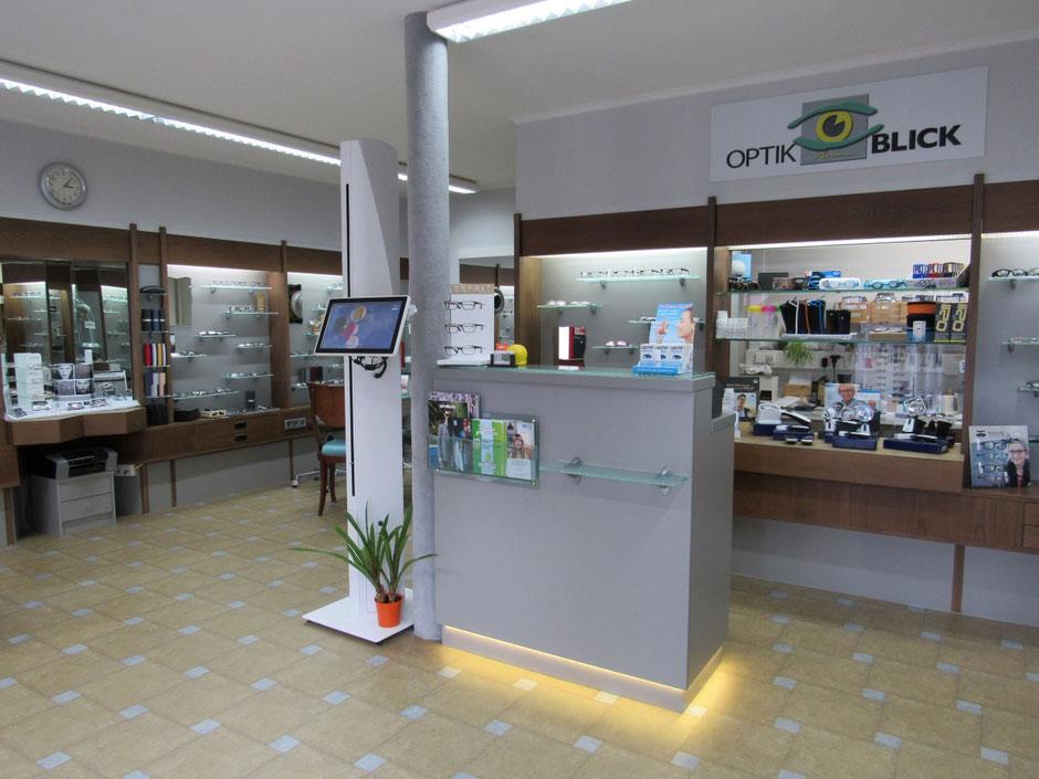 Innen-Ansicht unseres Optik Fachgeschäft in Teningen