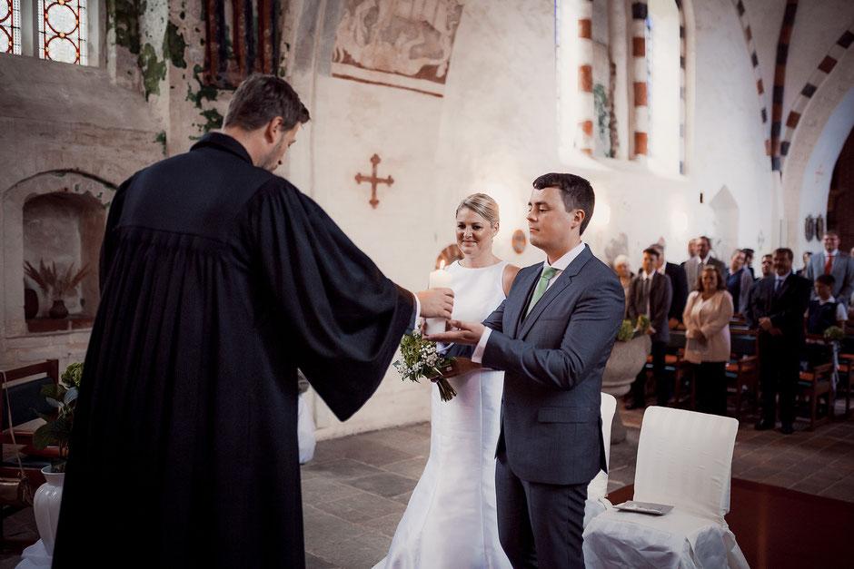 Traukerze Hochzeit