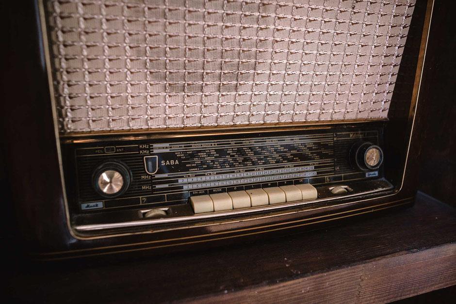 altes SABA Radio