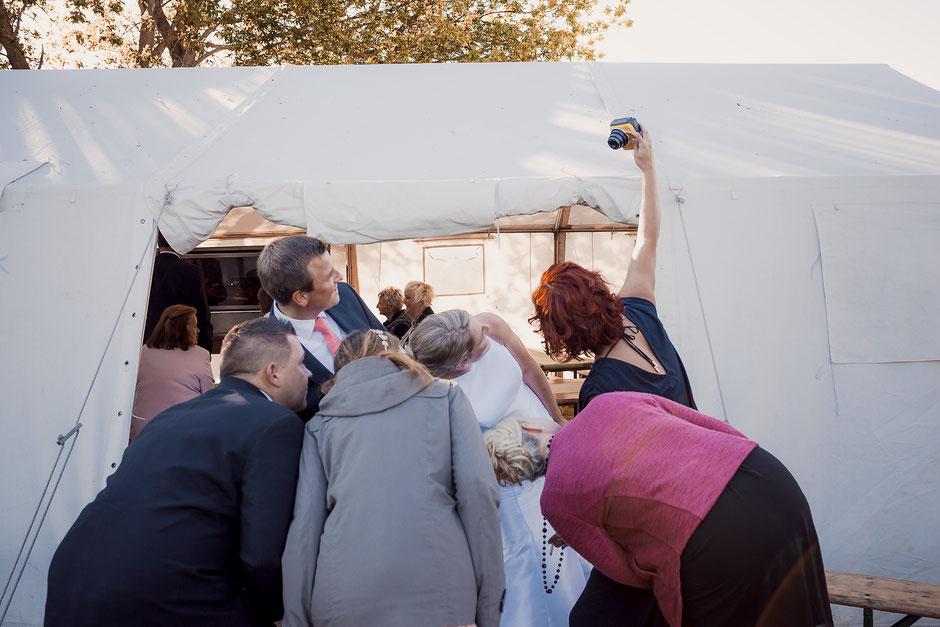 Fuji Instax selfie Hochzeit