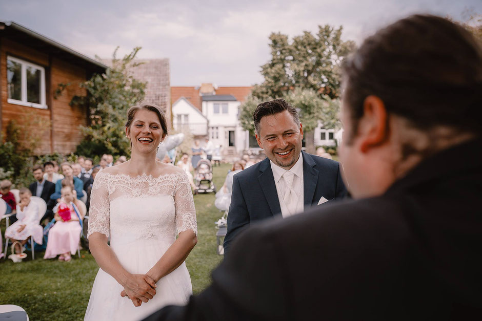 Brautpaar beim Ja Wort