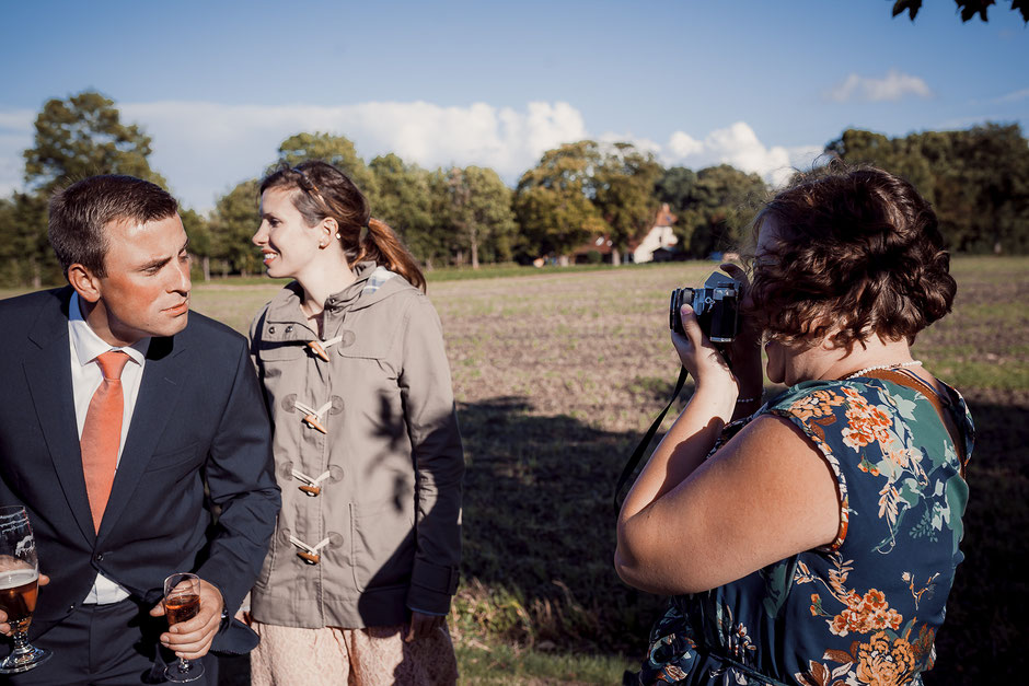 Analogfotos bei der Hochzeit