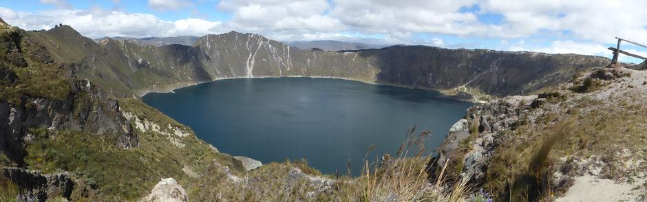 Lagune d eQuilotoa