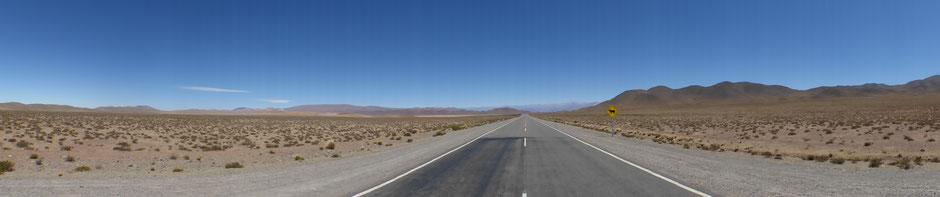 Sur la route de la boucle de Salta, Argentine
