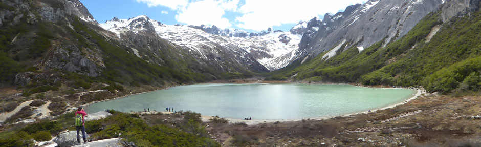 La laguna Esmeralda