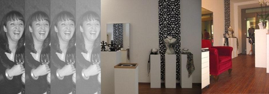 Gisela Ritzenthaler im Ladenatelier Rote-Hahnen-Gasse 6 in der Regensburger Altstadt