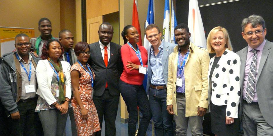 Forum des jeunes ambassadeurs de la Francophonie des Amériques 2016
