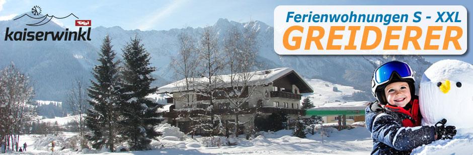 Ferienwohnungen, Greiderer, Walchsee, Kaiserwinkl, Tirol