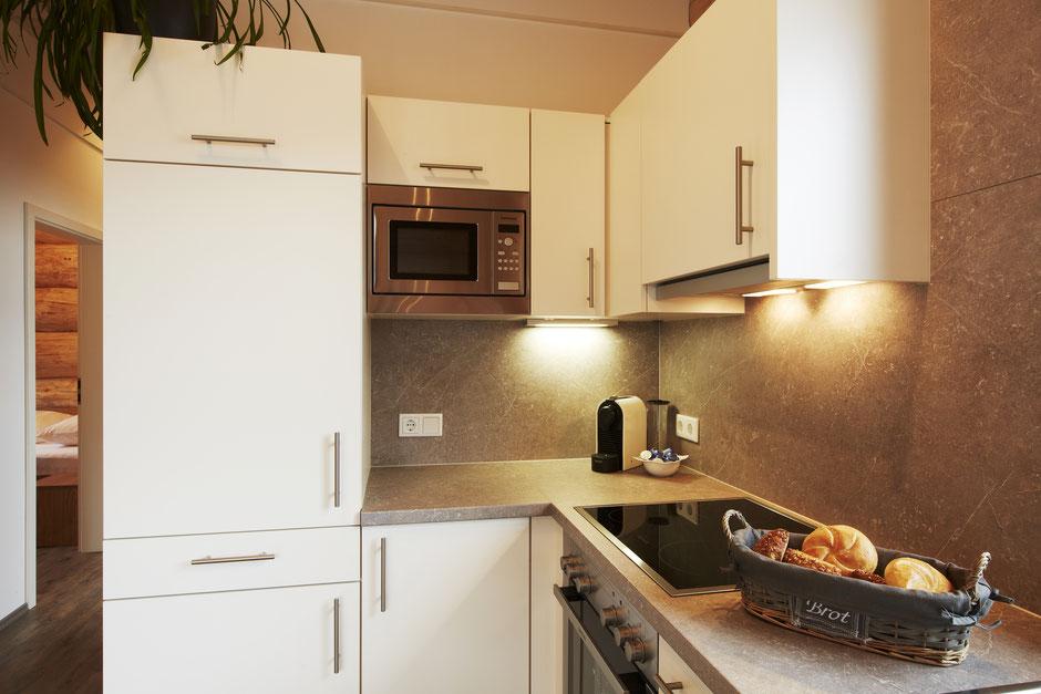 Chalet- und Küchen Ausstattung im Chalet