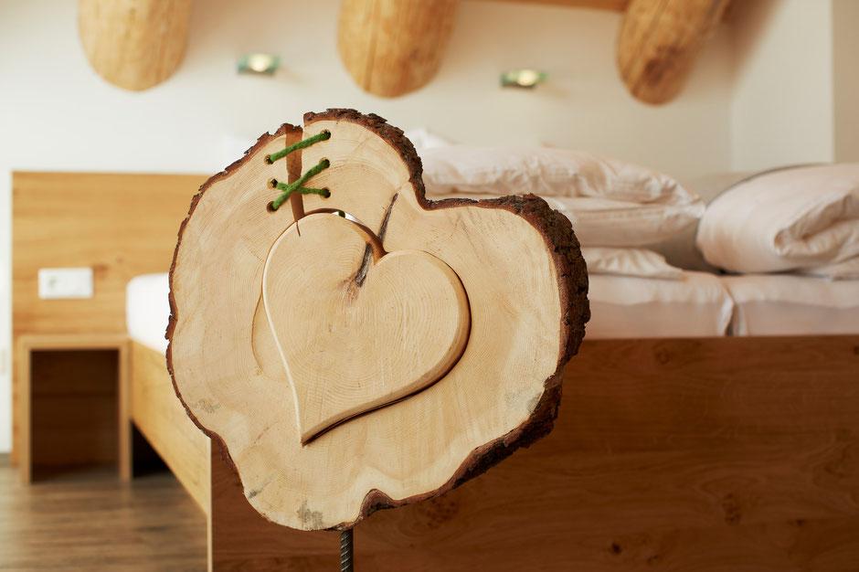 Ein Herzliches Willkommen in den Holz Chalets